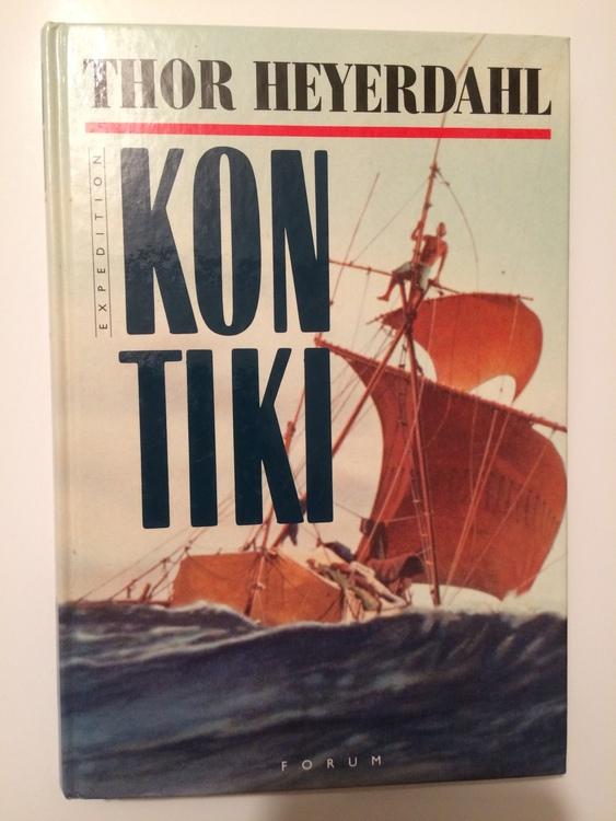 "Heyerdahl, Thor ""Kon-Tiki"" KARTONNAGE"