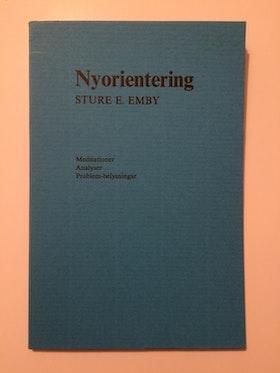 """Emby, Sture E """"Nyorientering"""" HÄFTAD"""