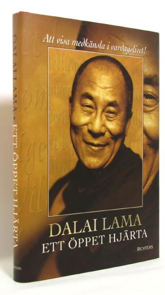 """Dalai Lama, """"Ett öppet hjärta"""" INBUNDEN ANTIKVARISK"""