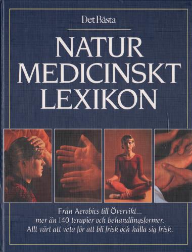 """Det Bästa, """"Naturmedicinskt lexikon"""" INBUNDEN"""