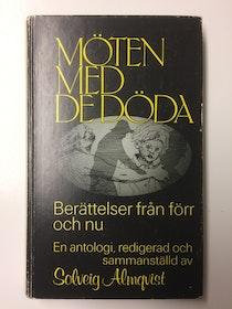 """Almqvist, Solveig, """"Möten med de döda"""" KARTONNAGE"""
