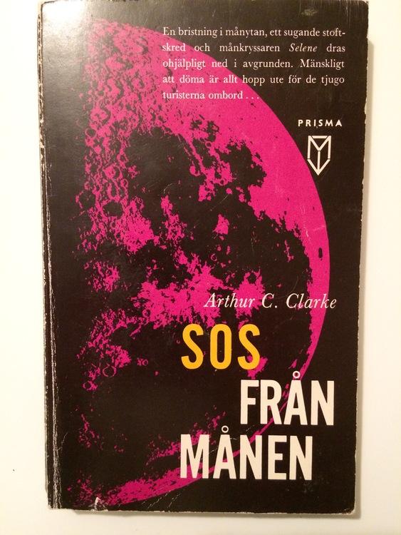 """Clarke, Arthur C """"SOS från månen"""" POCKET"""