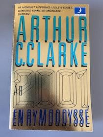 """Clarke, Arthur C., """"År 2001, en rymdodyssé"""" POCKET"""