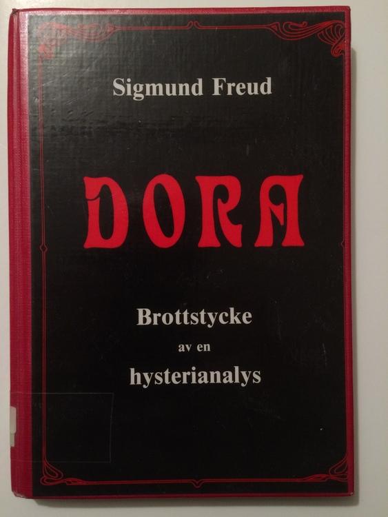 """Freud, Sigmund """"Dora: brottstycke av en hysterianalys"""" BIBLIOTEKSINBUNDEN"""