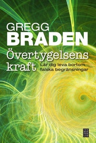 """Braden, Greg """"Övertygelsens kraft - Lär dig leva bortom falska begränsningar"""" INBUNDEN"""