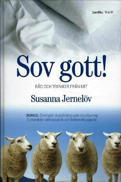"""Jernelöv, Susanna """"Sov gott! : råd och tekniker från KBT"""" HÄFTAD + CD"""