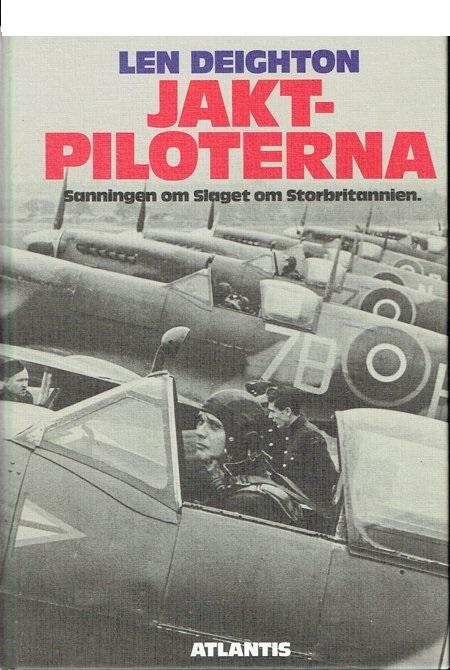 "Deighton, Len ""Jaktpiloterna - sanningen on slaget om Storbritannien"" KARTONNAGE"