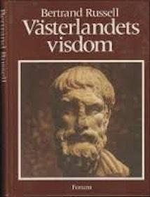 """Russel, Bertrand, """"Västerlandets filosofi"""" INBUNDEN"""