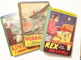 W E Johns, diverse böcker, olika titlar