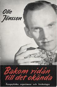 """Jönsson, Olle """"Bakom ridån till det okända"""" HÄFTAD"""