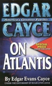 "Cayce, Edgar Evans ""Edgar Cayce on Atlantis"" POCKET"