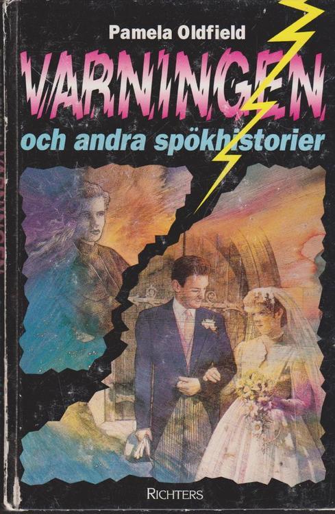 """Oldfield, Pamela """"Varningen och andra spökhistorier"""" KARTONNAGE"""