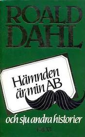 """Dahl, Roald """"Hämnden är min AB och sju andra historier"""" INBUNDEN"""