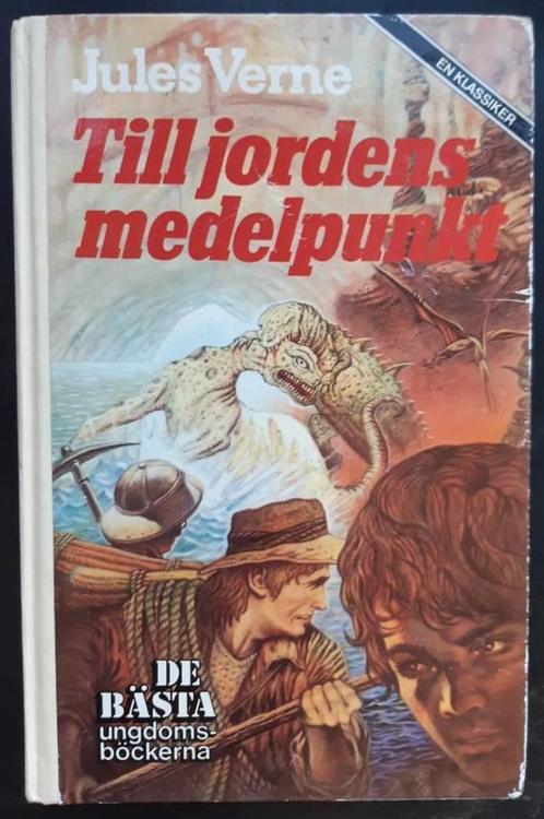 """Verne, Jules, """"Till jordens medelpunkt"""" INBUNDEN"""