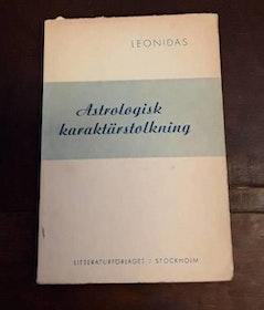 """Leonidas """"Astrologisk karaktärstolkning"""" HÄFTAD"""