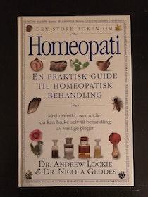 """Lockie, Dr Andrew """"Homeopati"""" HÄFTAD"""