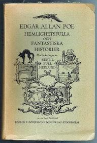 """Poe, Edgar Allan """"Hemlighetsfulla och fantastiska historier"""" HÄFTAD 1946"""