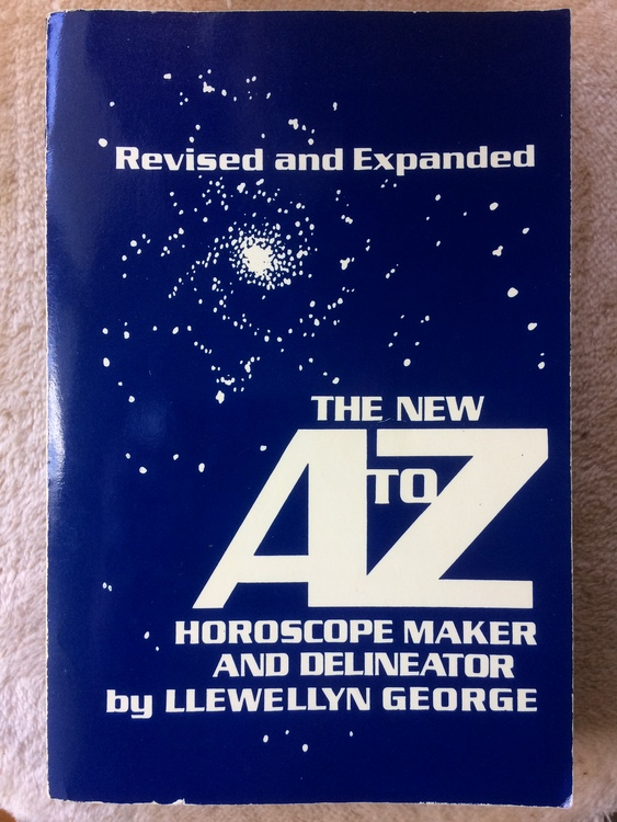 """Llewellyn, George """"The New A to Z Horoscope Maker and Delineator"""" MJUKBAND"""