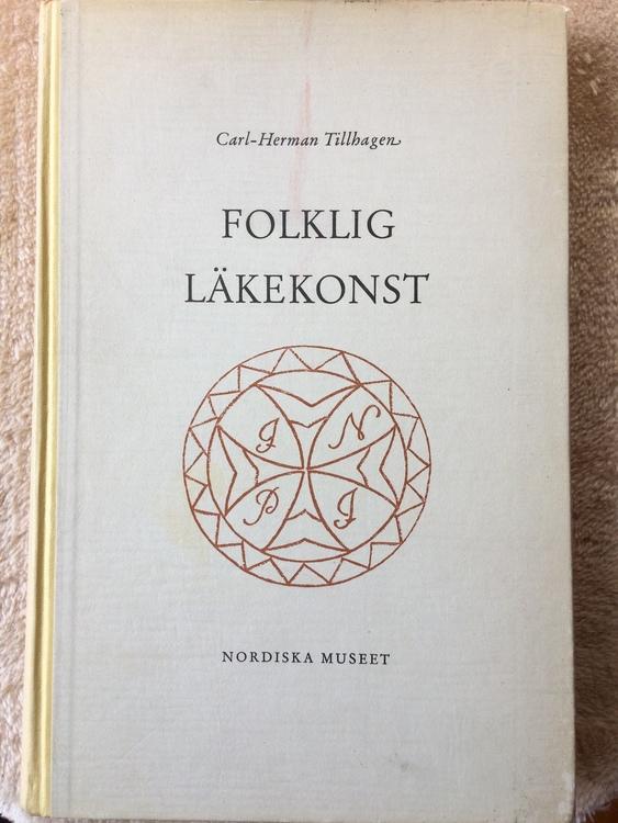 """Tillhagen, Carl-Herman, """"Folklig läkekonst"""" INBUNDEN"""