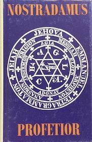 """Ohlmarks, Åke, """"Nostradamus profetior"""" KARTONNAGE. (Wahlström & Widstrand 1979)"""