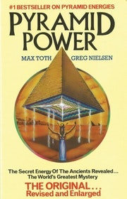 """Toth, Max & Nielsen, Greg """"Pyramid Power - The secret energy of the ancients revealed"""" HÄFTAD"""