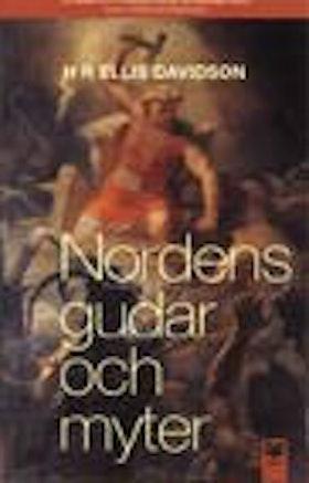 """Davidson, Ellis H R., """"Nordens gudar och myter"""" KARTONNAGE"""