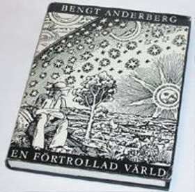 """Anderberg, Bengt, """"En förtrollad värld"""" BIBLIOTEKSINBUNDEN"""