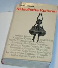 """Lissner, Ivar, """"Rätselhafte kulturen"""" SLUTSÅLD"""