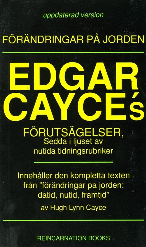 """Cayce Hugh, Lynn, """"Edgar Cayces förutsägelser, förändringar på jorden"""" POCKET SLUTSÅLD"""