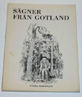 """Anderson, K. G., """"Sägner från Gotland, andra samlingen"""" SLUTSÅLD"""