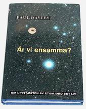 """Davies, Paul, """"Är vi ensamma?"""" INBUNDEN"""