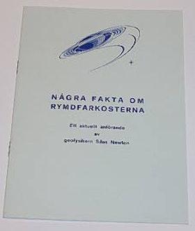 """Newton, Silas, """"Några fakta om rymdfarkosterna"""" HÄFTE"""