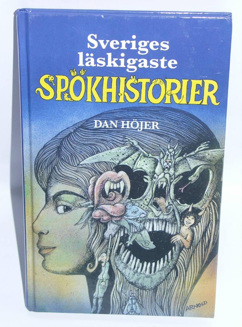 "Höjer, Dan, ""Sveriges läskigaste spökhistorier"" KARTONNAGE SLUTSÅLD"