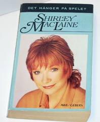 """MacLaine, Shirley, """"Det hänger på spelet"""" POCKET"""