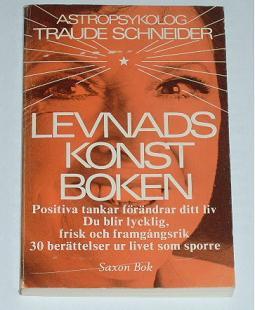 """Schneider, Traude, """"Levnadskonst-boken"""" HÄFTAD SLUTSÅLD"""