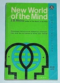 """Rhine, J B, """"New World of the Mind"""" HÄFTAD SLUTSÅLD"""