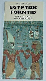 "Grönblom, Rolf, ""Egyptisk forntid"" BIBLIOTEKSINBUNDEN"
