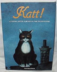 """Toijer-Nilsson, Ying, """"KATT! Litterära katter samlade av Ying Toijer-Nilsson"""" SLUTSÅLD"""
