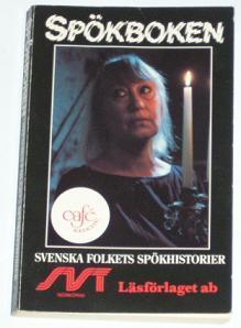 """(S) Alm / Hussin / Höjer, """"Spökboken: Svenska folkets spökhistorier"""" POCKET"""