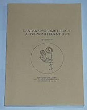 "Sahlqvist, Leif, ""Landskapsgeometri och astronomi i forntiden"" SLUTSÅLD"