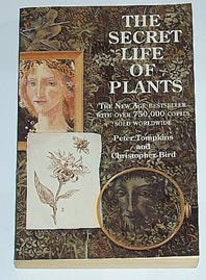 "Tompkins, Peter / Christopher Bird, ""The Secret Life of Plants"" POCKET SLUTSÅLD"
