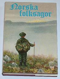 """Asbjørnsen, Peter Christen & Jörgen Moe, """"Norska folksagor""""KARTONNAGE SLUTSÅLD"""