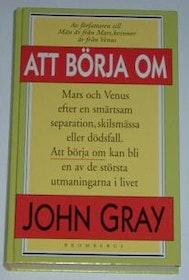 """Gray, John, """"Att börja om"""" KARTONNAGE"""