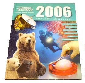 ILLUSTRERAD VETENSKAPS STORA ÅRSBOK 2006 slutsåld