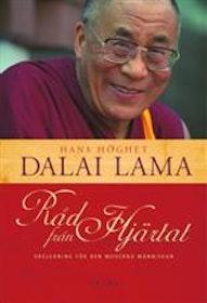 """Dalai Lama, """"Råd från hjärtat: vägledning för den moderna människan"""" POCKET"""