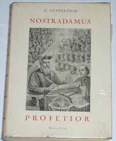 """Gustafsson, G., """"Nostradamus profetior"""" SLUTSÅLD"""