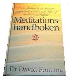 """Fontana, David Dr., """"Meditationshandboken"""" KARTONNAGE"""