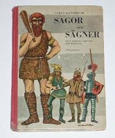 """Mannervik, Cyrus, """"Sagor och sägner från Nordens forntid och medeltid"""" SLUTSÅLD"""