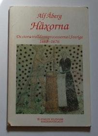"""Åberg, Alf, """"Häxorna - De stora trolldomsprocesserna i Sverige 1668-1676"""" SLUTSÅLD"""