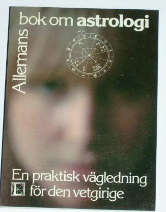 """Geddis, Sheila, """"Astrologi, en praktisk vägledning för den vetgirige"""" HÄFTAD"""
